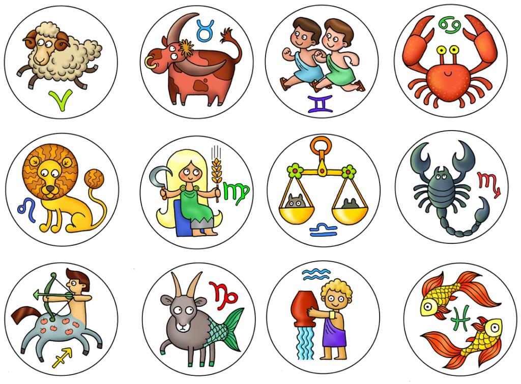 Запомнить 12 знаков зодиака