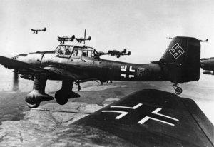 Самолет немцев